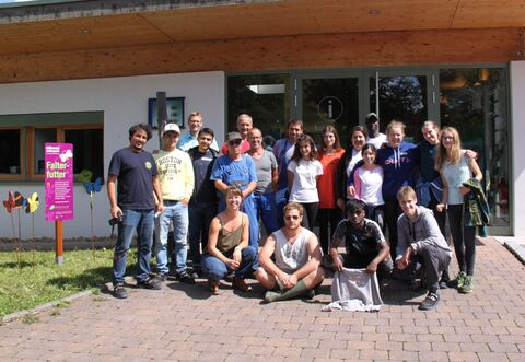 Internationales Workcamp im Naturpark Stromberg-Heuchelberg