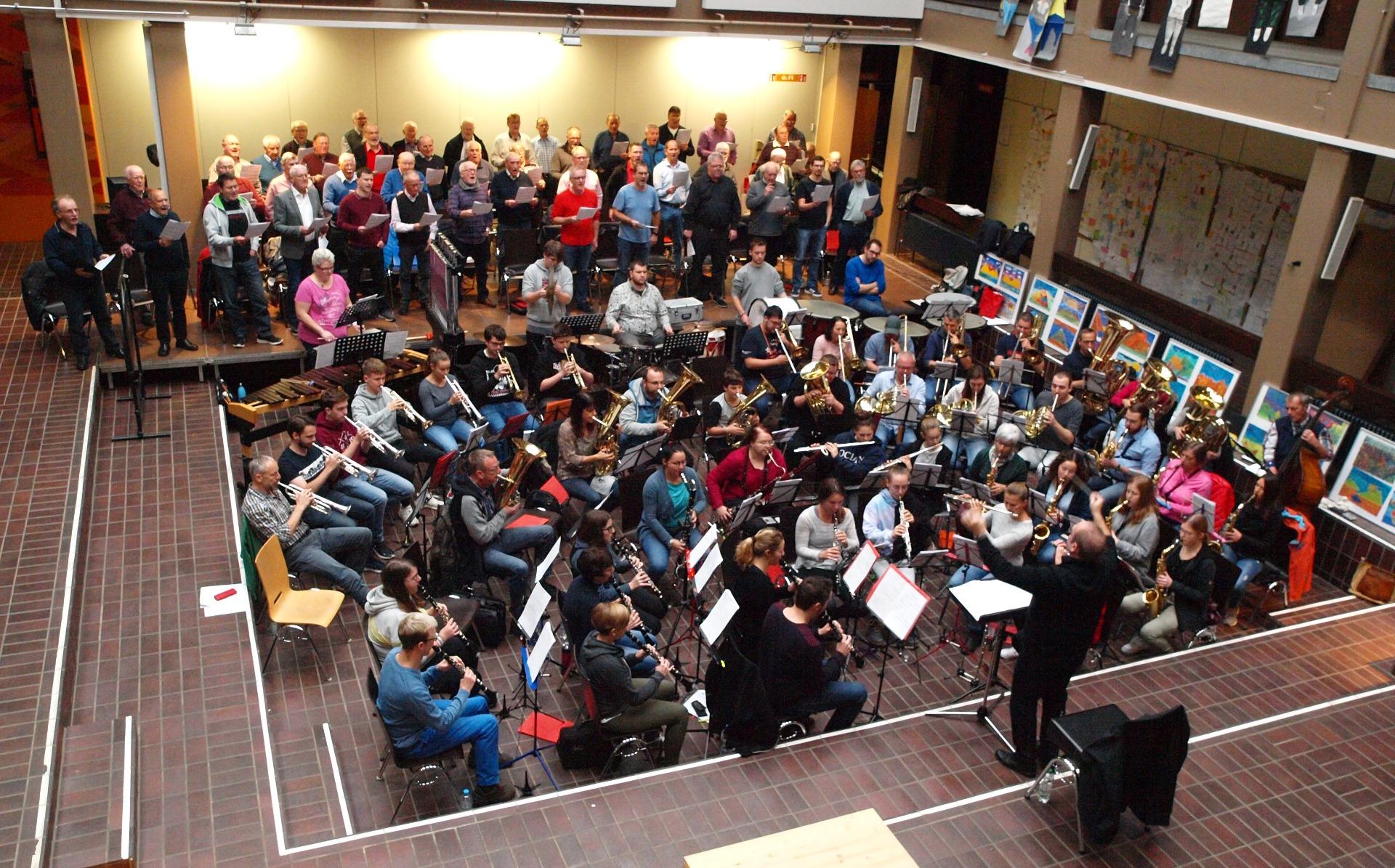 ▷ Probe mit Chor für Jubiläumskonzert - Eppingen.org