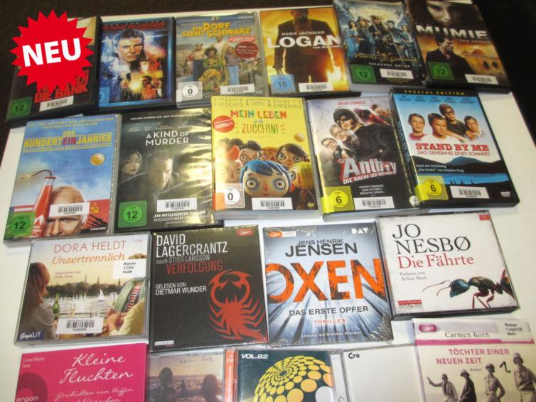 Neue Dvds Und Hörbücher In Der Bücherei Eppingenorg