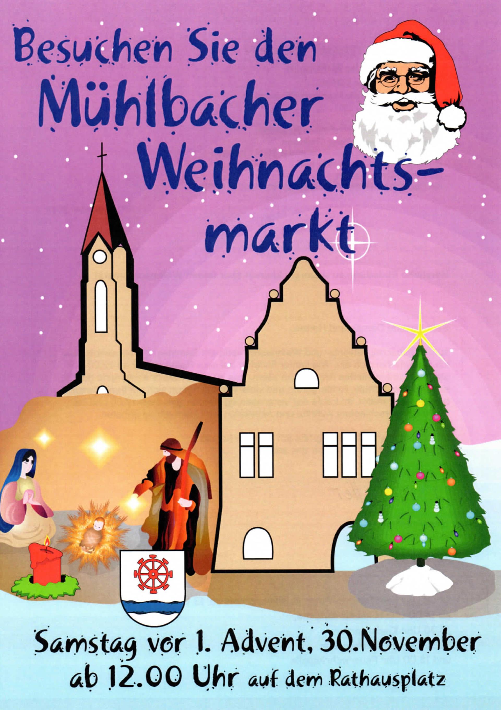▷ Kleiner aber feiner Weihnachtsmarkt - Eppingen.org