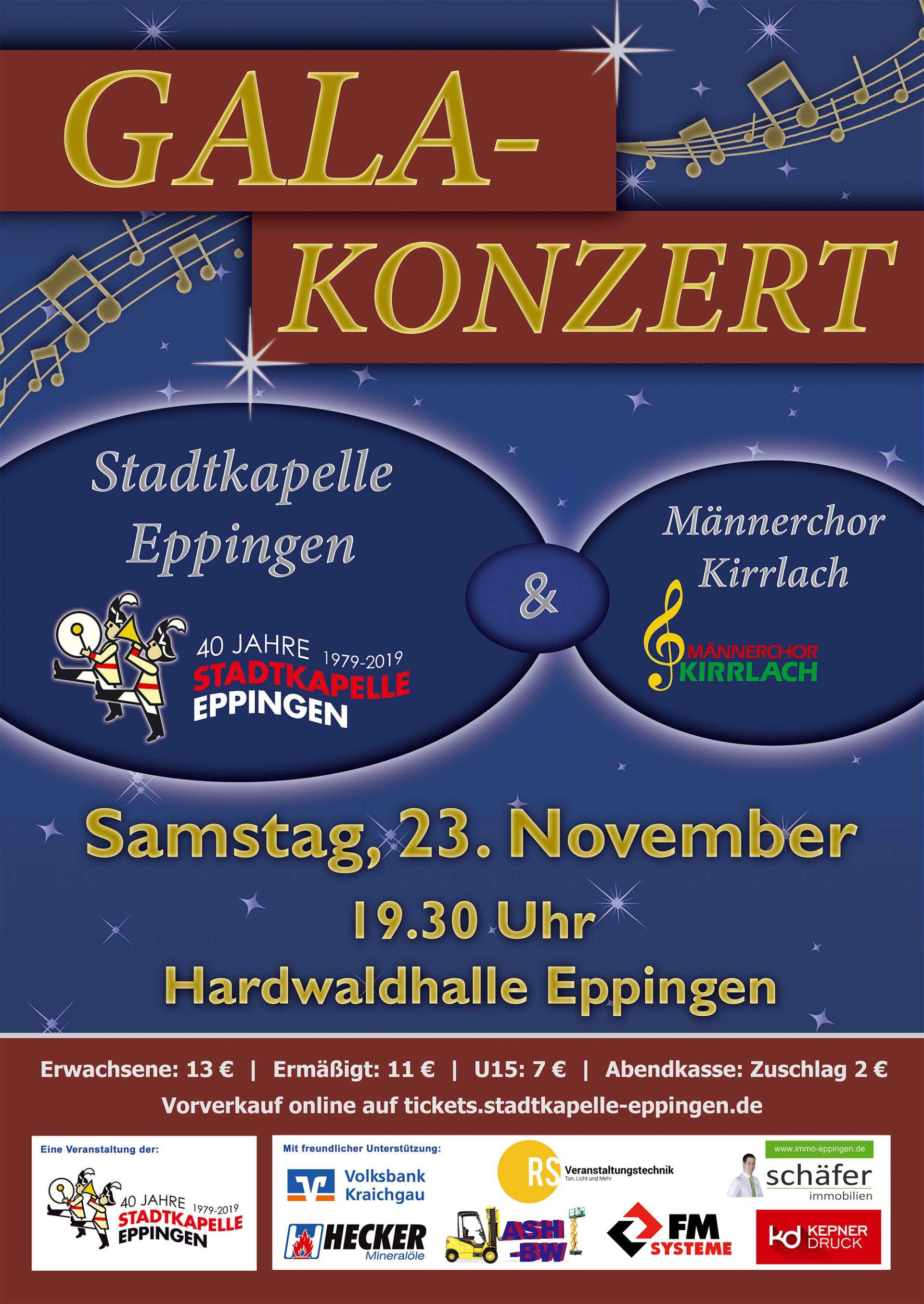 ▷ Gala-Konzert der Stadtkapelle Eppingen - Eppingen.org