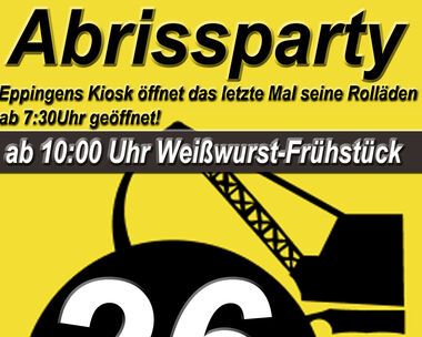 Abrissparty!