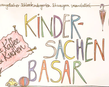 Kindersachanbasar in Schwaigern