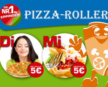 Pizza- und Pastatag bei Pizza-Roller