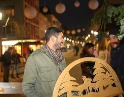 Weihnachtsbeleuchtung Xxl.Einschalten Der Weihnachtsbeleuchtung Und Xxl Shopping Eppingen Org