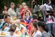 Internationales Fest zum Sommerausklang