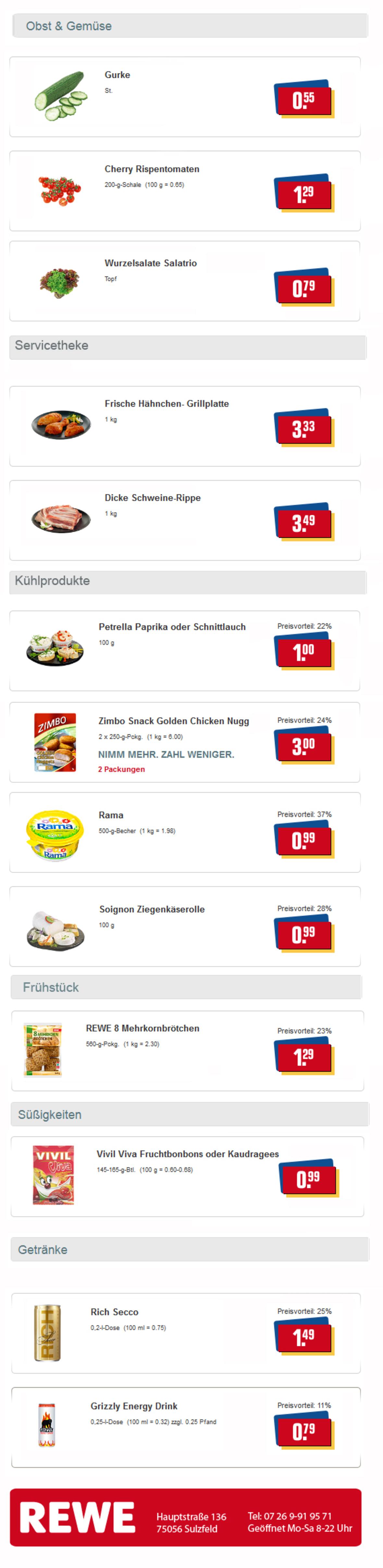 ▷ REWE - Sulzfeld Angebote der Woche | EPPINGEN.org
