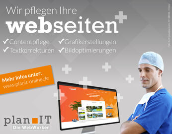 Webseitenpflege plan IT