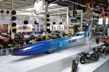 The Blue Flame © Technik Museum Sinsheim